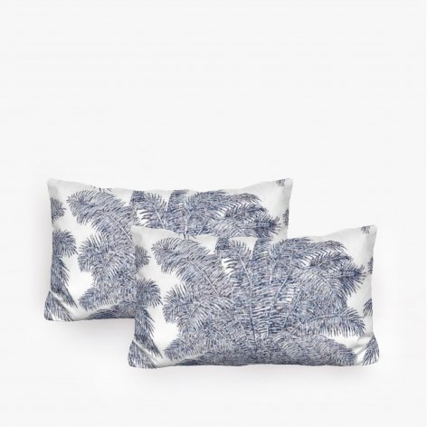 Two Blue Surf Cushions